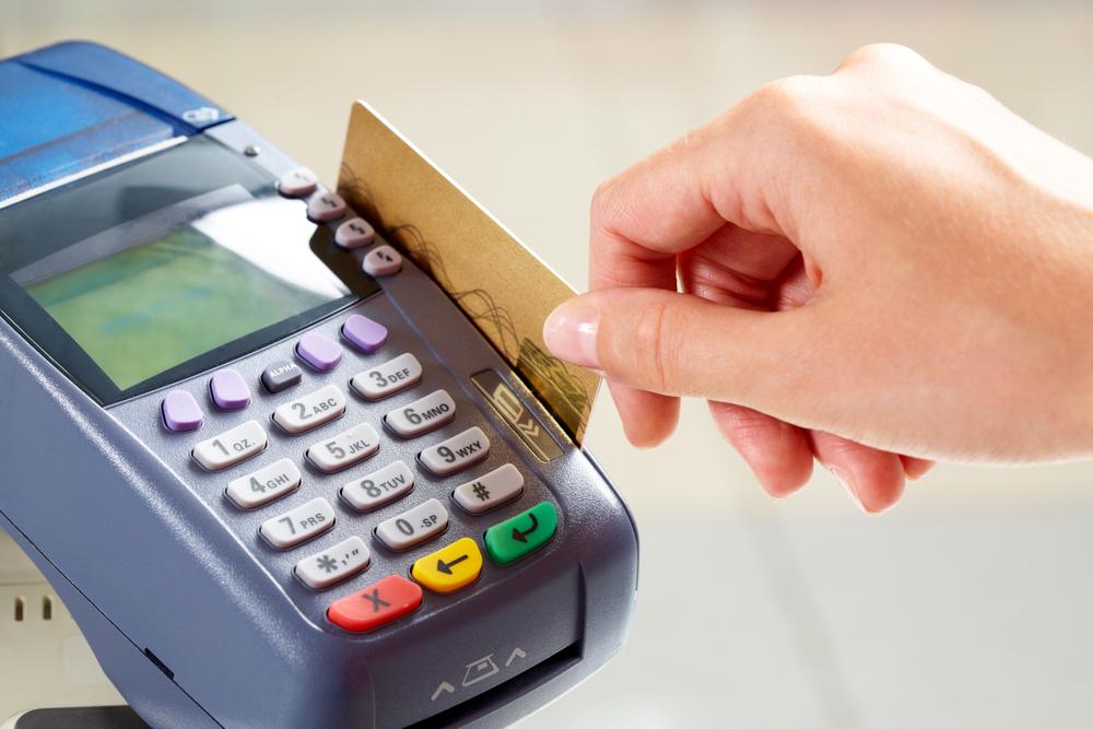 Совершение покупки кредитной картой сбербанка