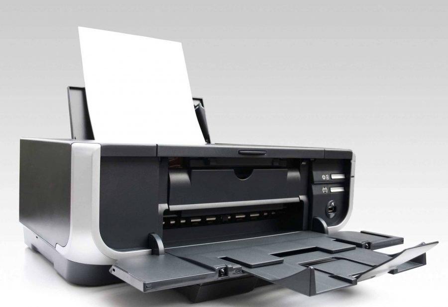 Получить документ при помощи принтера