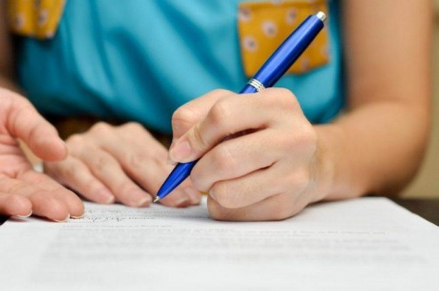 Написать заявление с просьбой на досрочное погашение