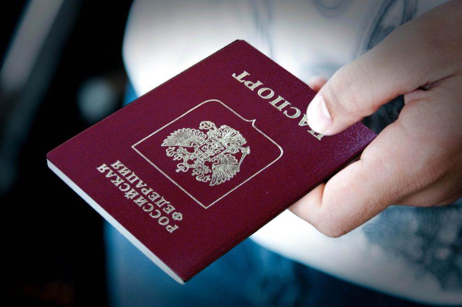 В агентстве предъявляется паспорт