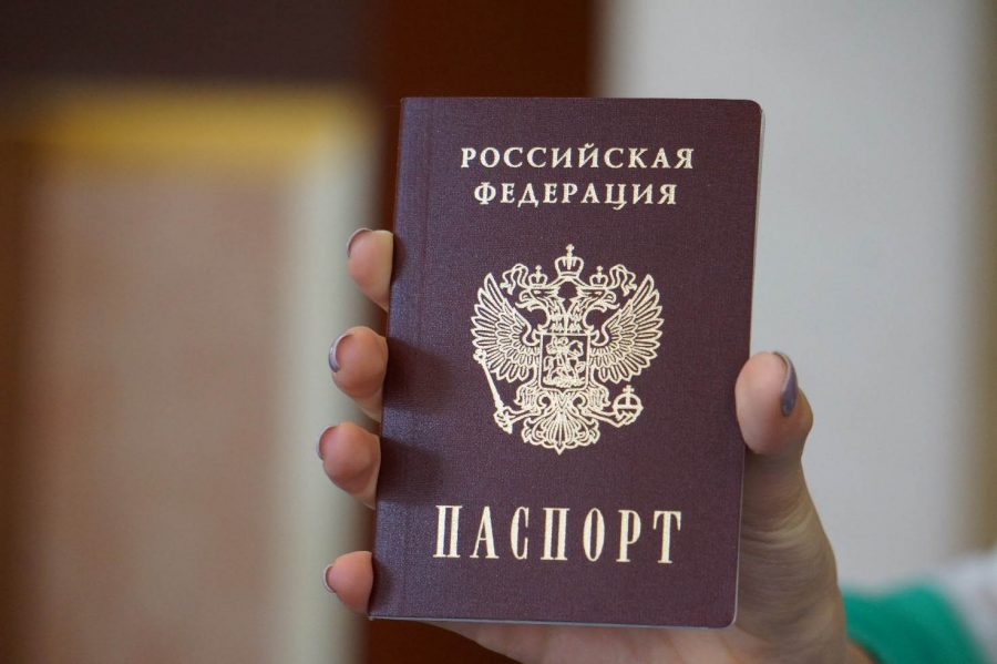 При оформлении понадобится паспорт