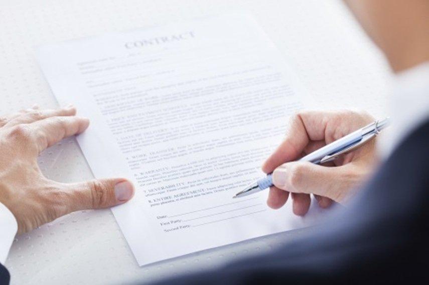 Муж и жена составили брачный контракт