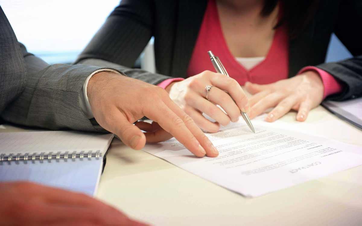 Супруги заключили брачный контракт