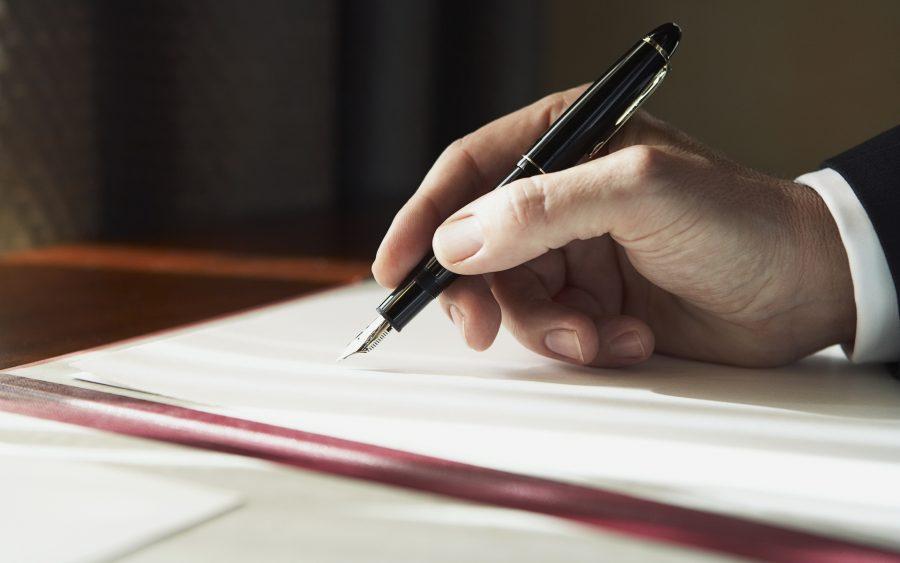 Написать доверенность на представителя