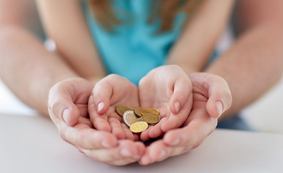 Денежный вклад для детей-сирот