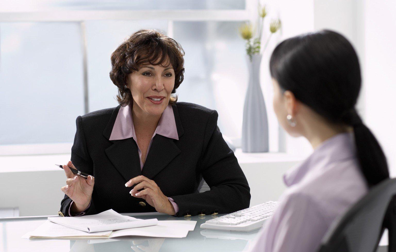 Собеседование на должность сотрудника