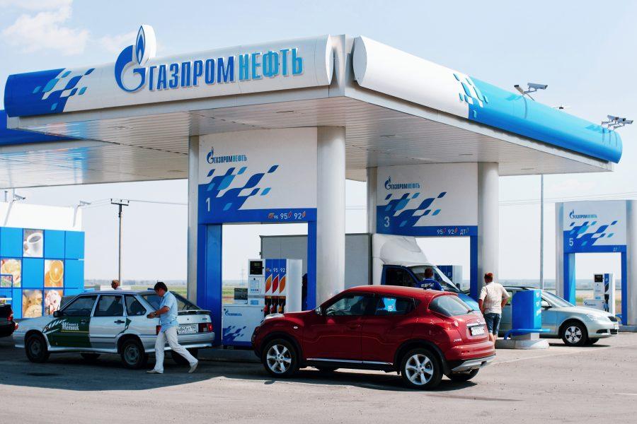 АЗС Газпромнефть партнер Сбербанка