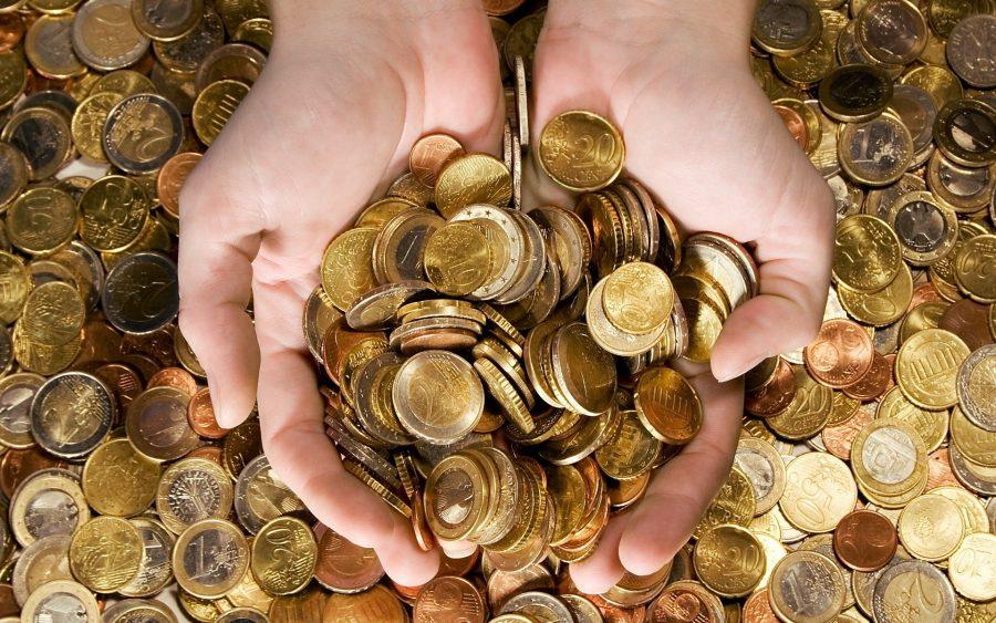 Обмен монет на купюры Сбербанке