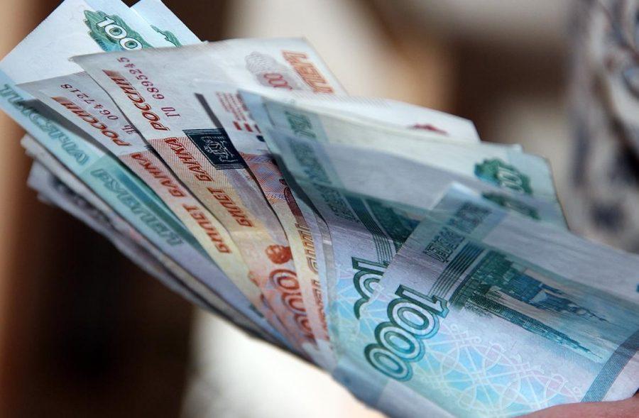Деньги получают в кассе наличностью