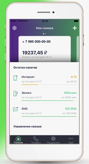 Мобильное приложение Сбермобайл