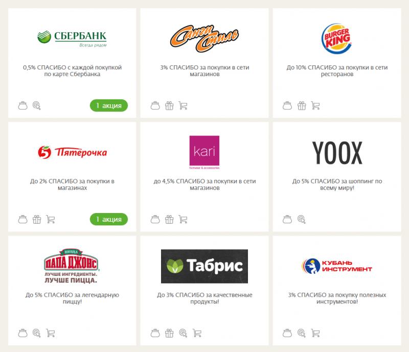 Магазины-партнеры