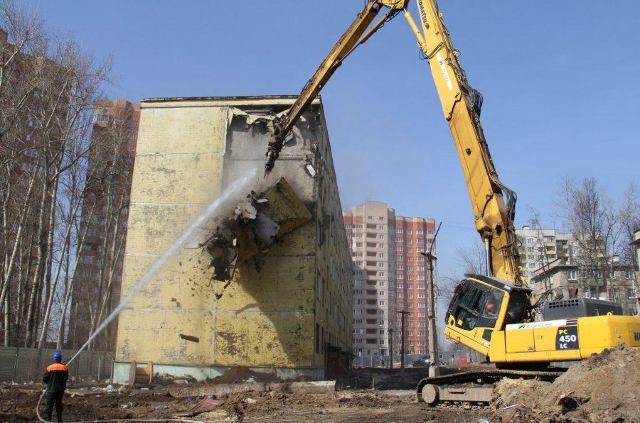 Сносятся дома по программе реновации