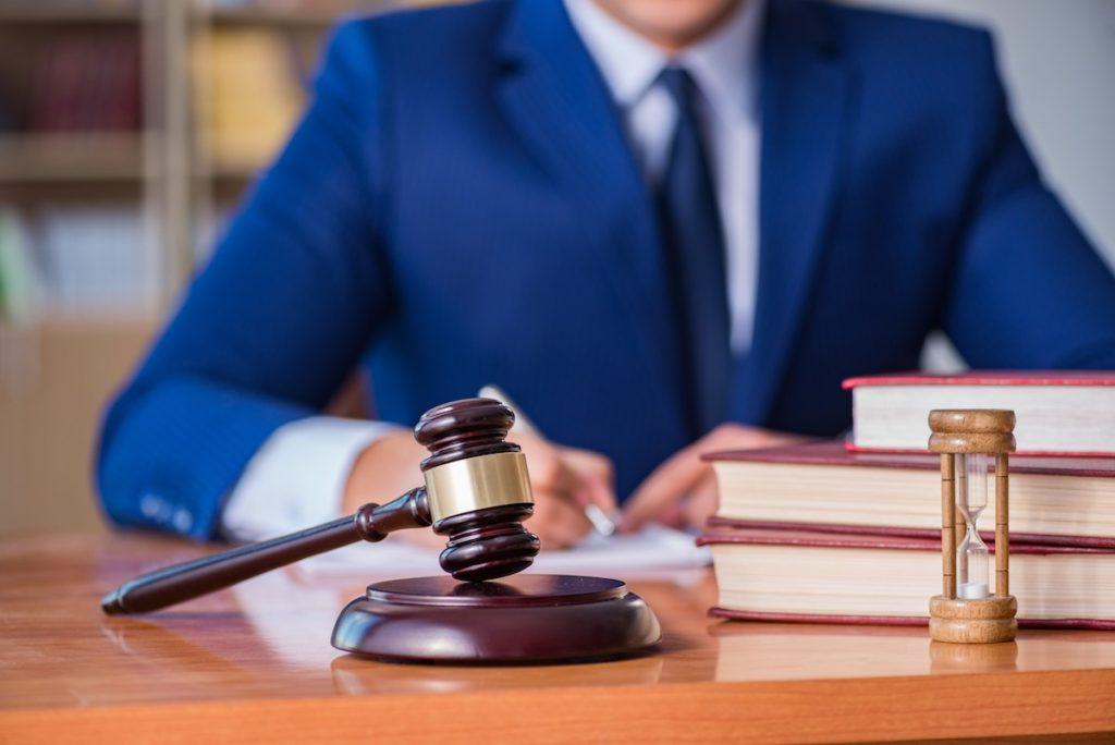 Обратиться в суд для разблокировки