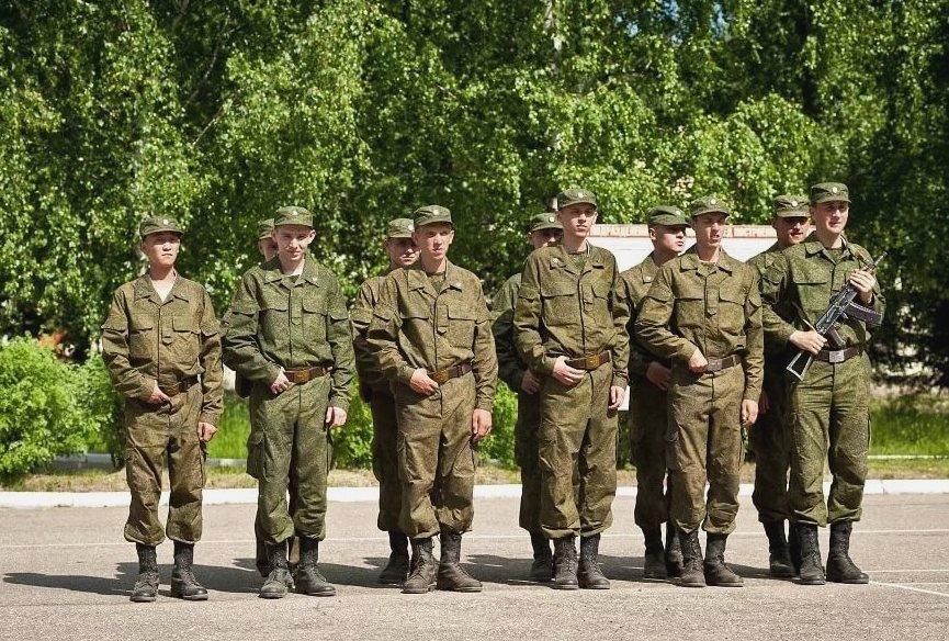 Военные признанные годными